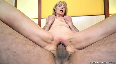 Short hair, Senior, Short haired mature, Amateur mature