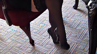 Silk stockings, Stockings heels, Silk, High-heeled