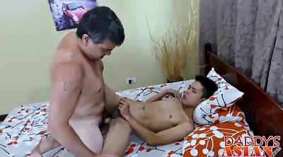 Asian gay, Asian daddy, Spread, Spread asses