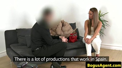 Casting, Creampie in pussy