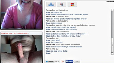 French mature, Chatroulette