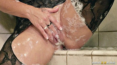 Big boobs, Shower solo, Huge tits solo