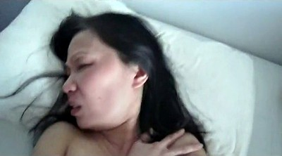 Fuck wife, Face fuck, Cum on pussy, Pussy showing, Asian wife