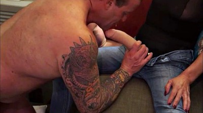 Pegging, Muscle daddy, Pegged