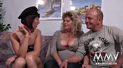 Mature couple, Spanish, Lesbian granny, Old and young lesbians, Mature and young, Young couple