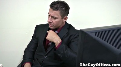 Office gay, Muscle gay, Gay office