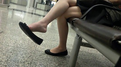 Asian feet, Legs, Leg, Shoeplay, Sexy feet