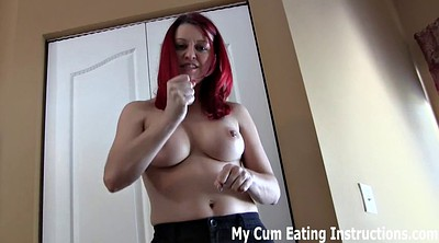 Cum eating, Eating, Blow cum