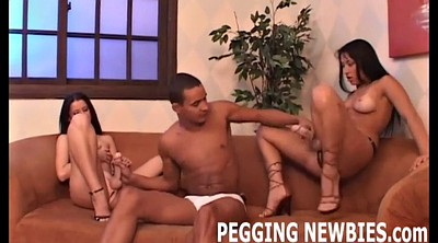 Pegging, First, First anal, Anal sex