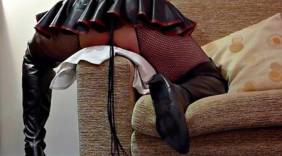 Hotel, Boot, Public toy, Latex sex, Funny sex, Boots anal