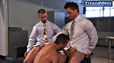 Hairy, Gay, Office
