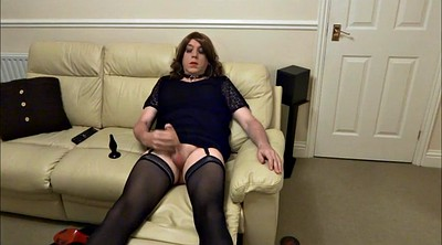 Crossdresser, Crossdressing, Butt plug