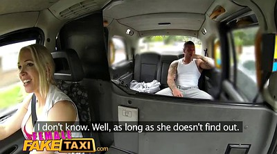 Fake, Fake taxi, Stud, Female, Cum in