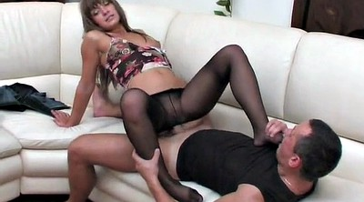 Hot, Pantyhose foot, Pantyhose feet, Pantyhose footjob
