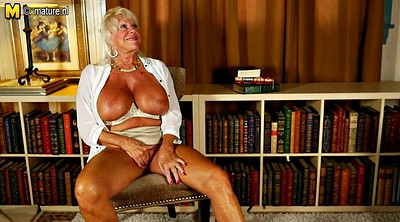 Grandma, American, Mature hot, Herself