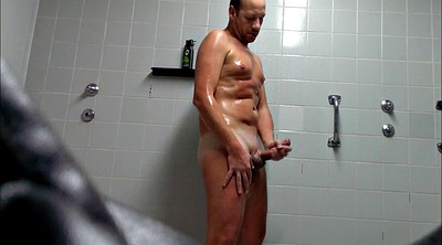 Male, Naked public, Gay shower