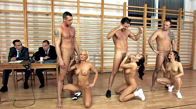 Group, Asian orgy, Can, Competition, Asian group, Asian blonde