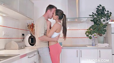 Teen creampie, Kitchen creampie