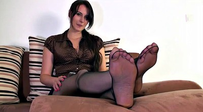 Foot, Nylon, Nylon feet, Cum on foot, Nylon cum, Step mother