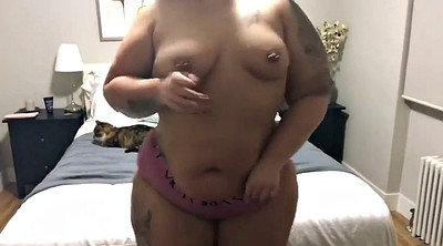 Big bbw, Bbw striptease