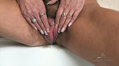 Hairy granny solo, Hairy mature solo, Hairy mature masturbation, Granny solo