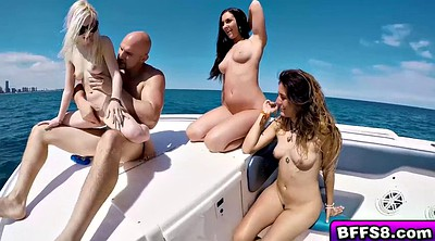 Foursome, Boat, Boat sex