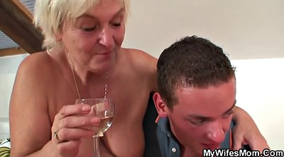 Taboo, Old mom, Milf and young