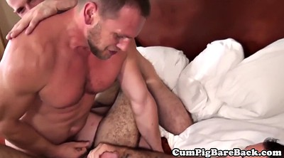 Bear, Rip, Mature threesome, Bear gay, Muscle bear
