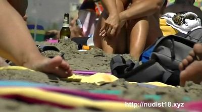 Nudist, Naked, Beach voyeur, Nudist beach