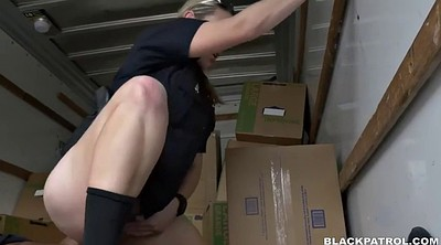 Police, Car, Black missionary, Face to face, Black big cock, Two cocks in