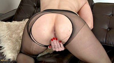 Ripped, Pantyhose tease, Insert