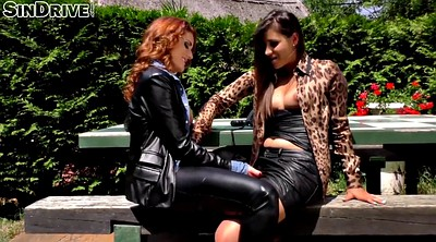 Leather, Outdoor fisting, Lesbian seduction