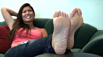 Michelle, Asian foot, Asian feet, Soles feet