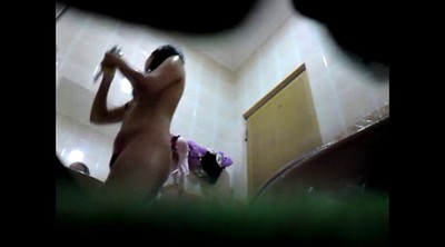 Hidden, Spy cam, Asian shower, Spy shower