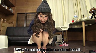 Japanese granny, Desperate, Asian granny, Subtitle