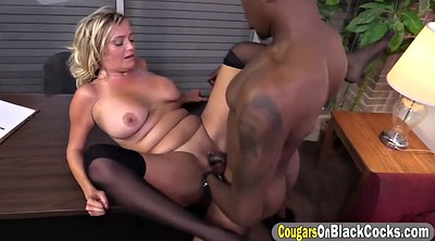 Monster cock, Black monster cock, Blond milf