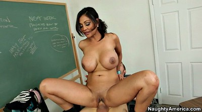 Milf teacher, Riding, Classroom