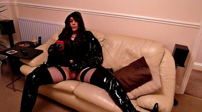 Boots, Thigh boots, Pvc