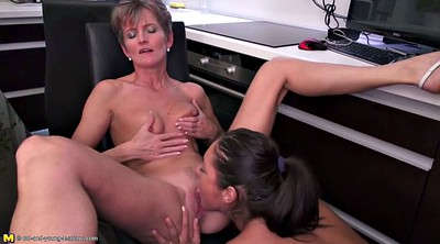 Asslicking, Asslick, Young and mature, Lesbian ass, Granny lesbian, Old and young lesbians
