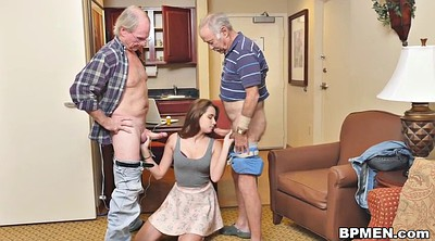 Teenage, Naomi, Granny threesome, Granny young, First big cock