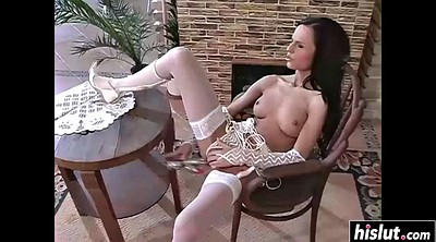 White stockings, Skinny anal, White, Stocking anal, White stocking, Stockings anal