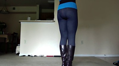 Crossdressing, Leggings, Voyeur masturbation, Crossdressers