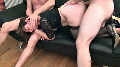 French, Mature gangbang, Gangbang mature