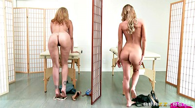 Julia ann, Sauna, Spa, Kayden, Kendall, Girls massage
