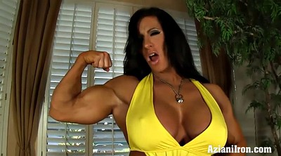 Mature solo, Bodybuilder, Saggy, Muscle solo, Big lips