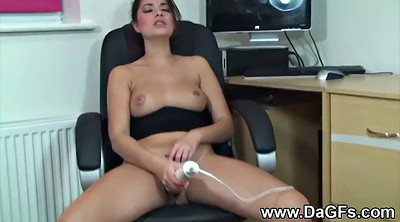 First time, Office sex, Office masturbation