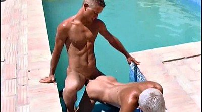 Hanged, Twink, In the pool, Hanging, Fucking