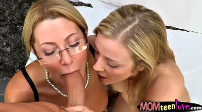 Big tits stepmom