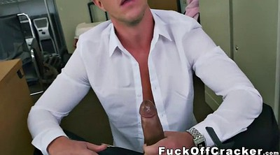 Huge cock, Gay white, Officer, Ebony gay