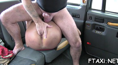 Taxi, Car sex, Taxi sex, Stunning